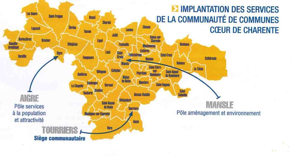Communauté de commune Coeur de Charente