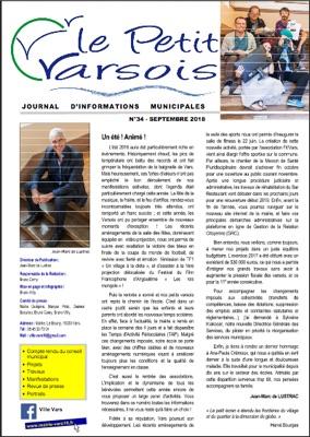 Le Petit Varsois N°34