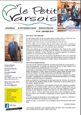 Le Petit Varsois N°35