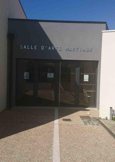 Salle d'arts martiaux de Vars (Charente)